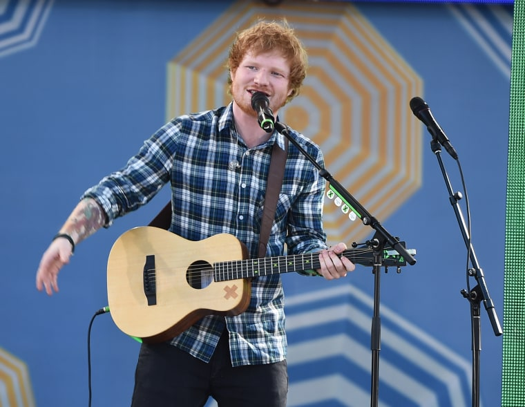 "Ed Sheeran Weighs In On VMAs: ""I Think The Minaj Point Is A Bit Redundant"""