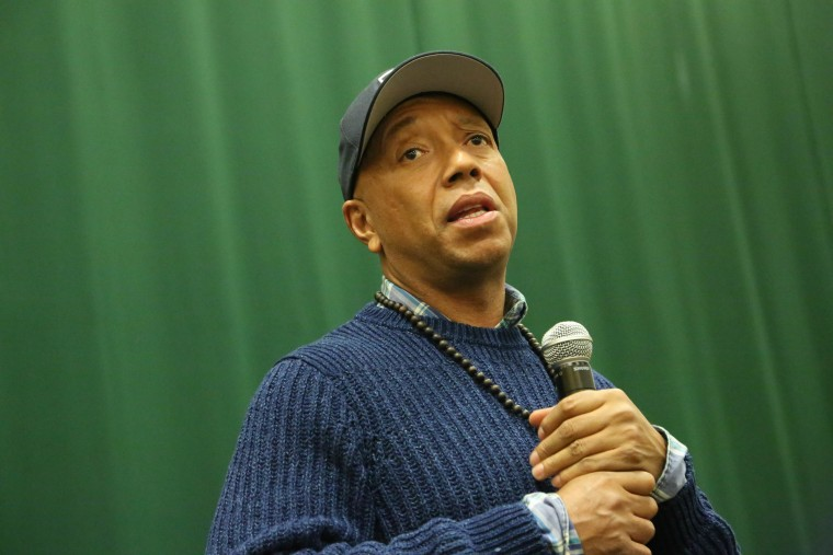The NYPD special victims unit is reportedly investigating Russell Simmons