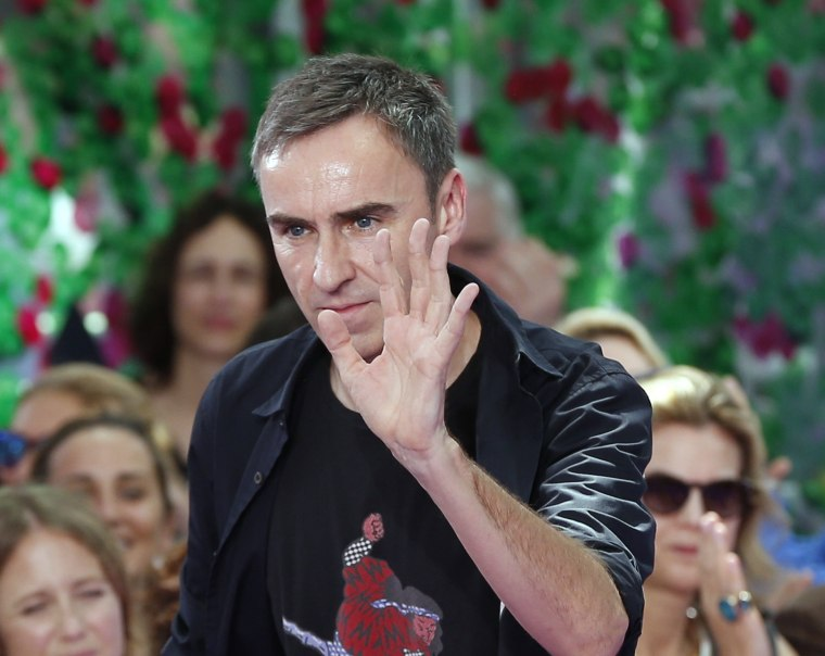 Raf Simons Is Leaving His Post At Dior