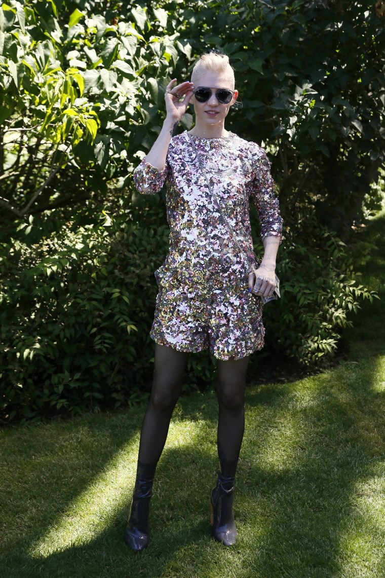 Here's Why Grimes Is A Style Icon From Another World