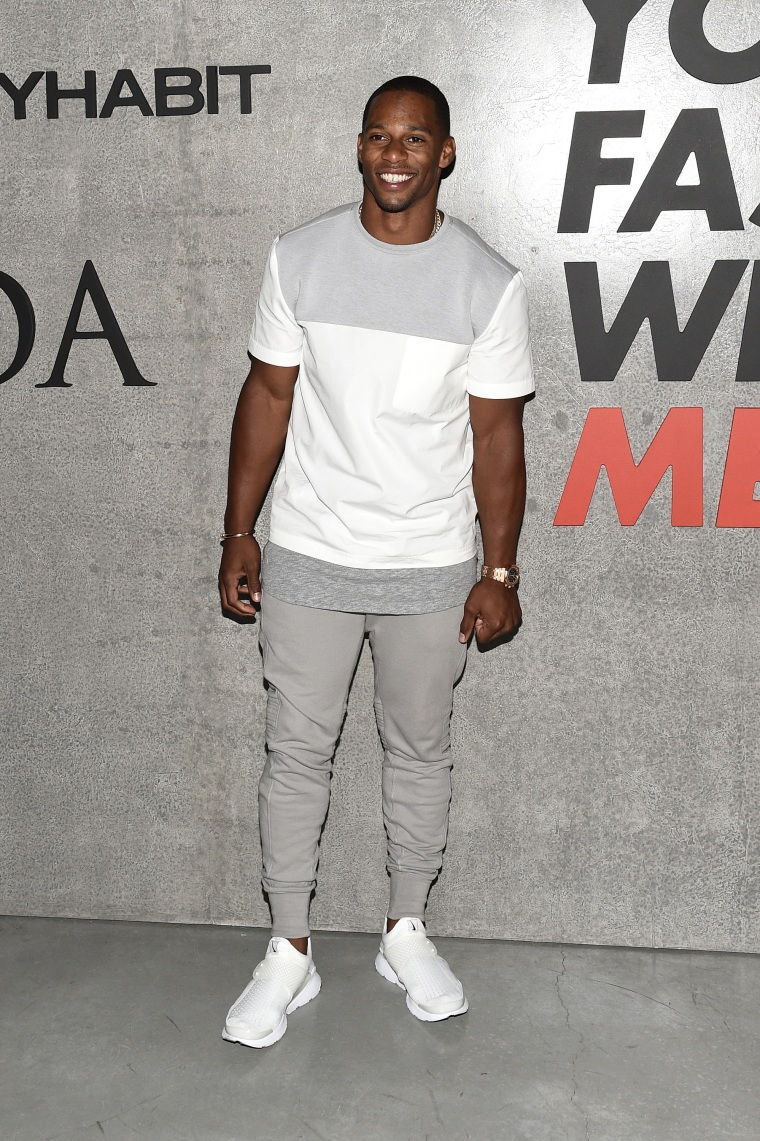 Which Professional Athlete Won Men's Fashion Week?