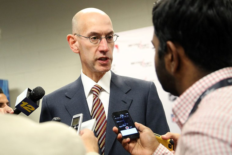 """NBA Commissioner Adam Silver: """"Our Expectation Is That Our Players Will Stand For The Anthem"""""""