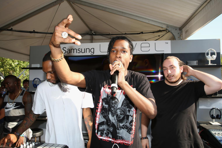 A$AP Rocky Reportedly Sued Over Young Shabba's Stage Diving