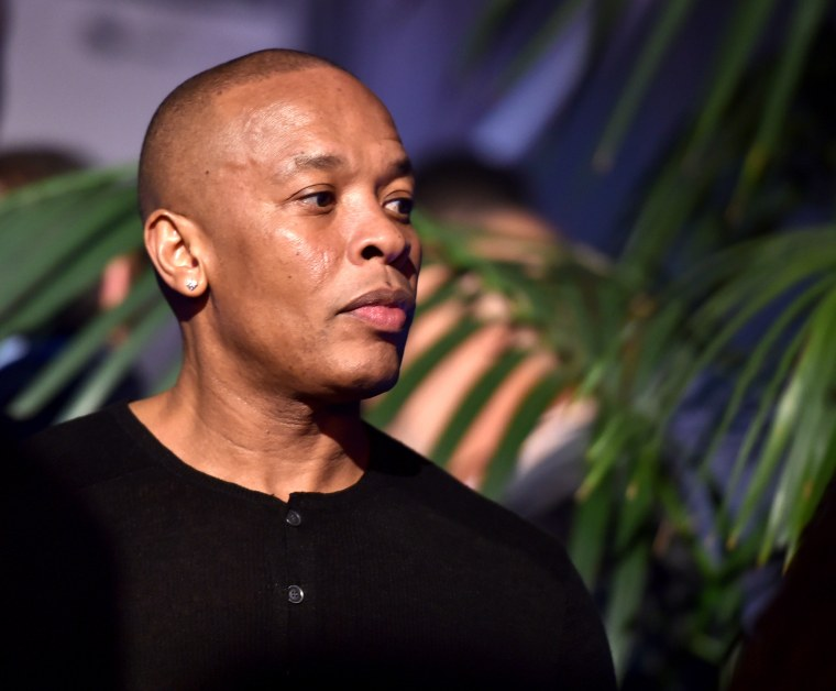 Report: Dr. Dre hospitalized with suspected brain aneurysm