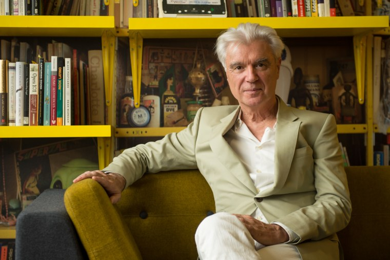 "David Byrne shares ""Pop Music"" playlist, featuring Rihanna, Carly Rae Jepsen, Grimes, and more"
