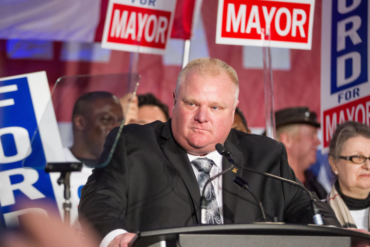 Former Toronto Mayor Rob Ford Has Died