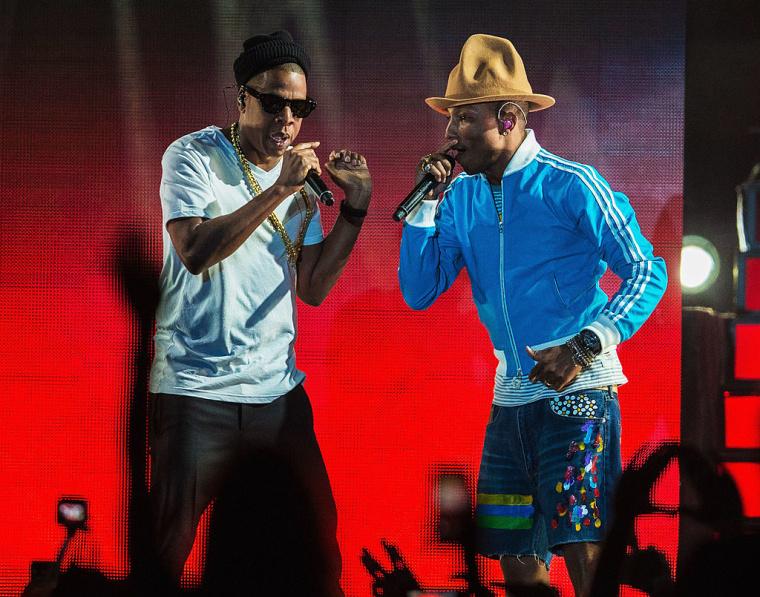"""Pharrell and JAY-Z honor Black-owned businesses on """"Entrepreneur"""""""