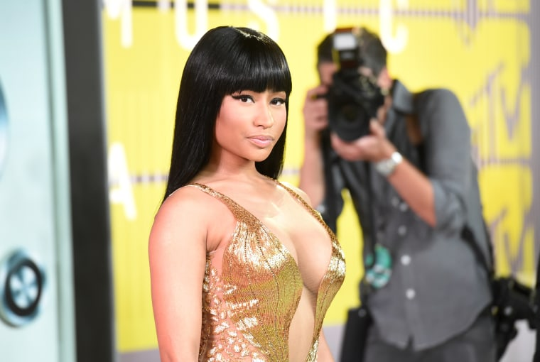 Nicki Minaj Called Out Miley Cyrus At The VMAs