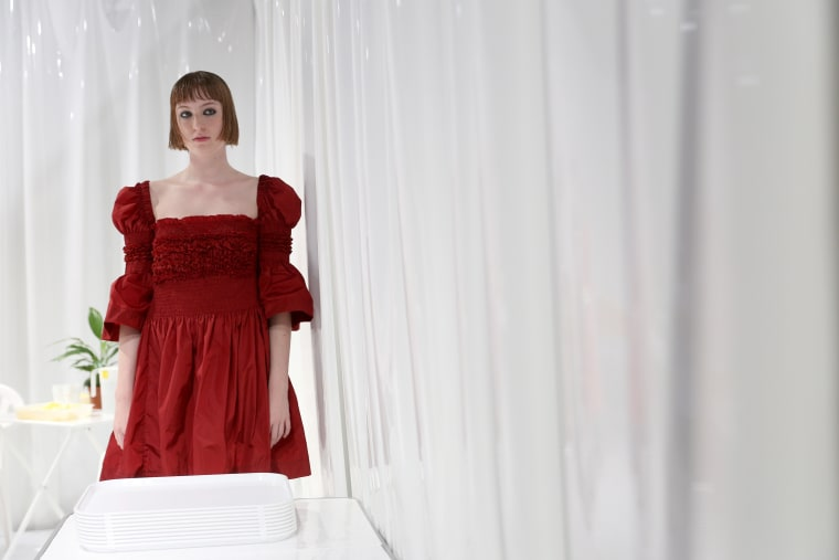 Molly Goddard's Toxic Angels Opened London Fashion Week