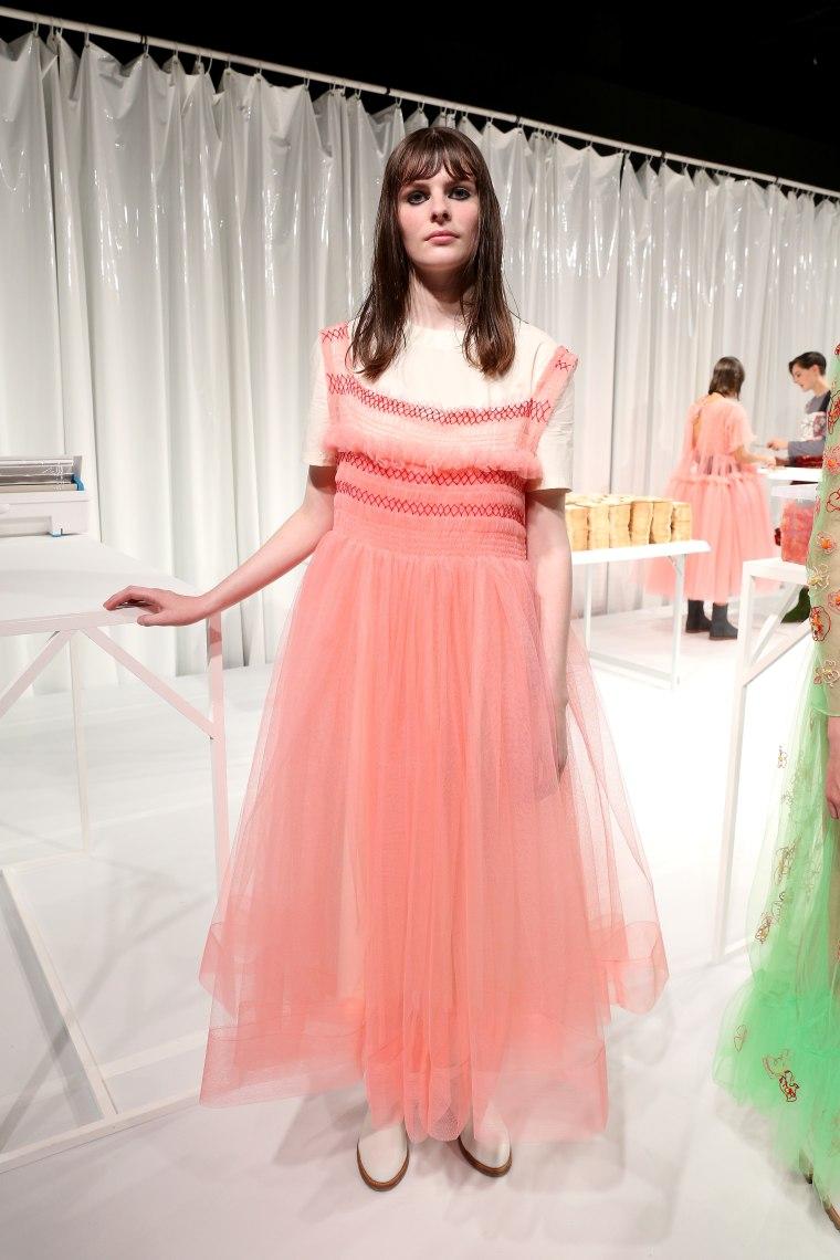 Molly Goddard's Toxic Angels Opened London Fashion Week