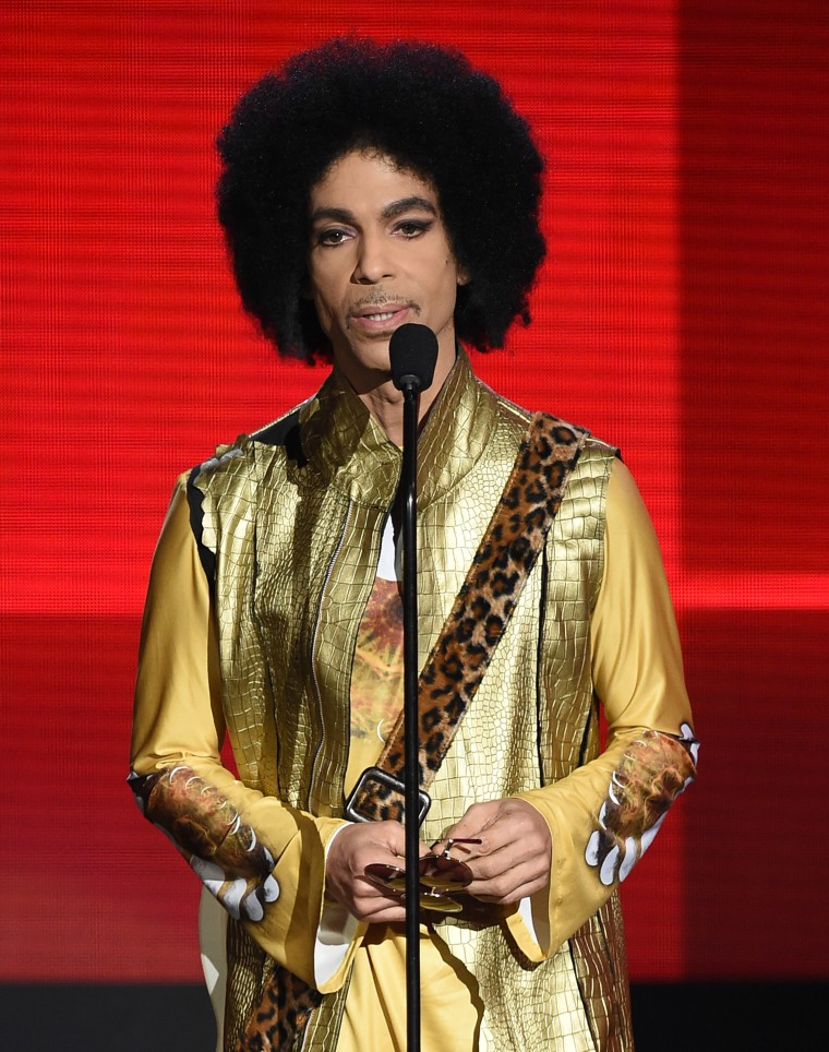 Prince hated holograms before they were even invented