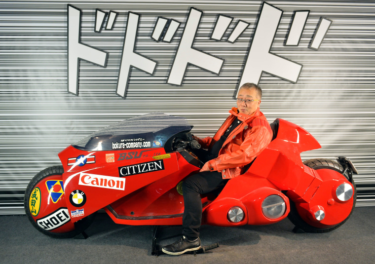 <i>Akira</i> creator Katsuhiro Otomo will revisit the series for a brand new anime