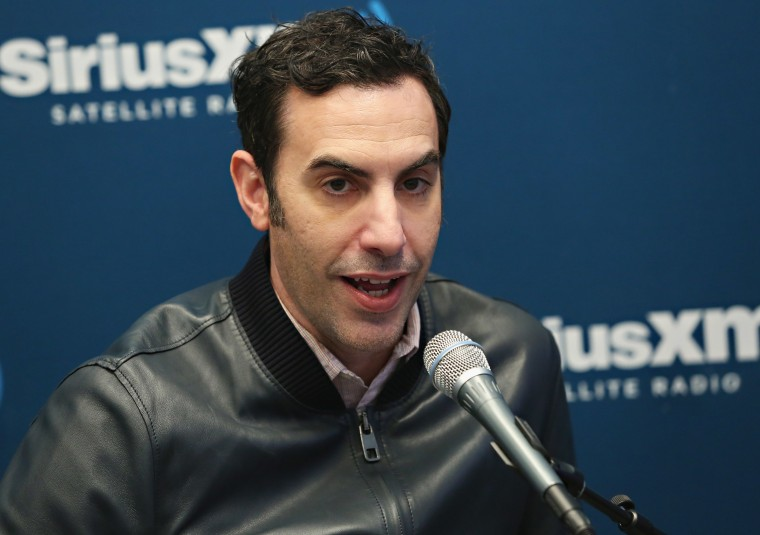 Sacha Baron Cohen to return to TV with <I>Who Is America?</i>
