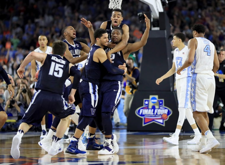 Villanova Upset UNC At The Buzzer, And The Internet Reacted Accordingly