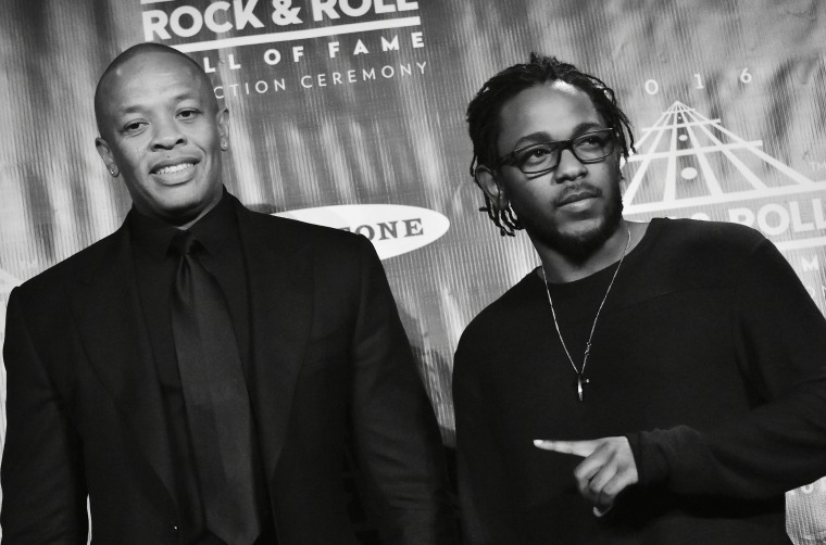 Listen to a Kendrick Lamar x Dr. Dre mashup project, <i>The DAMN. Chronic</i>