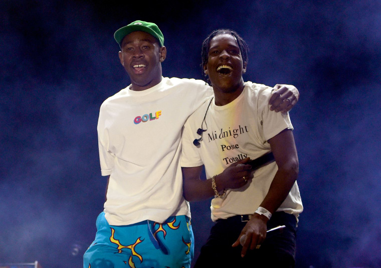 "ASAP Rocky and Tyler, the Creator team up for ""Potato Salad"""