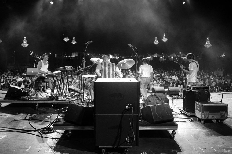 """BADBADNOTGOOD Team Up With Future Islands's Sam Herring For """"Time Moves Slow"""""""