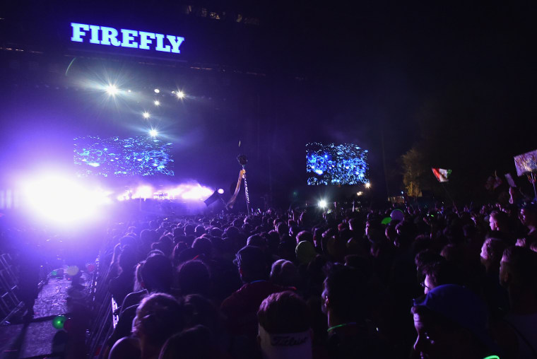 A woman was found dead at Firefly Music Festival