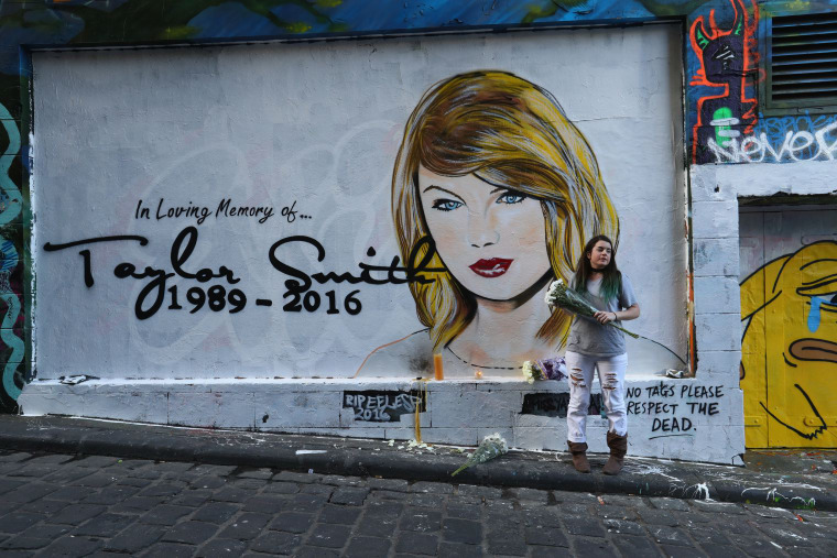 A Mural In Australia Is Eulogizing Taylor Swift's Career