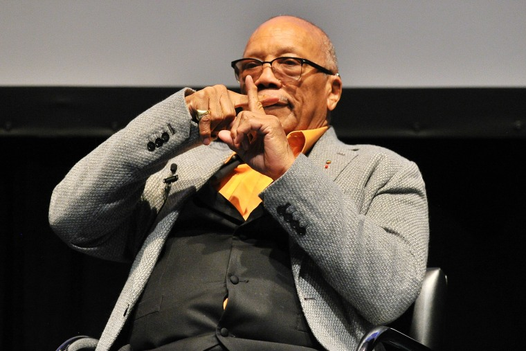 A visual guide to Quincy Jones's iconic, tell-all Vulture interview
