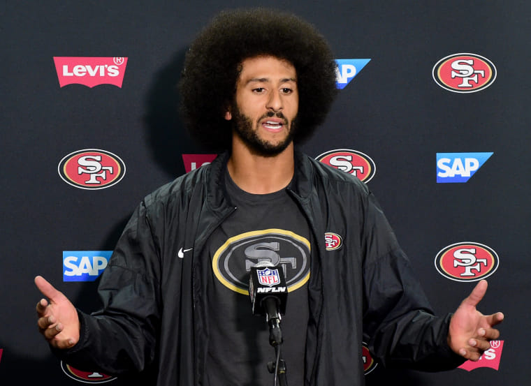 Colin Kaepernick and the NFL settle collusion complaint