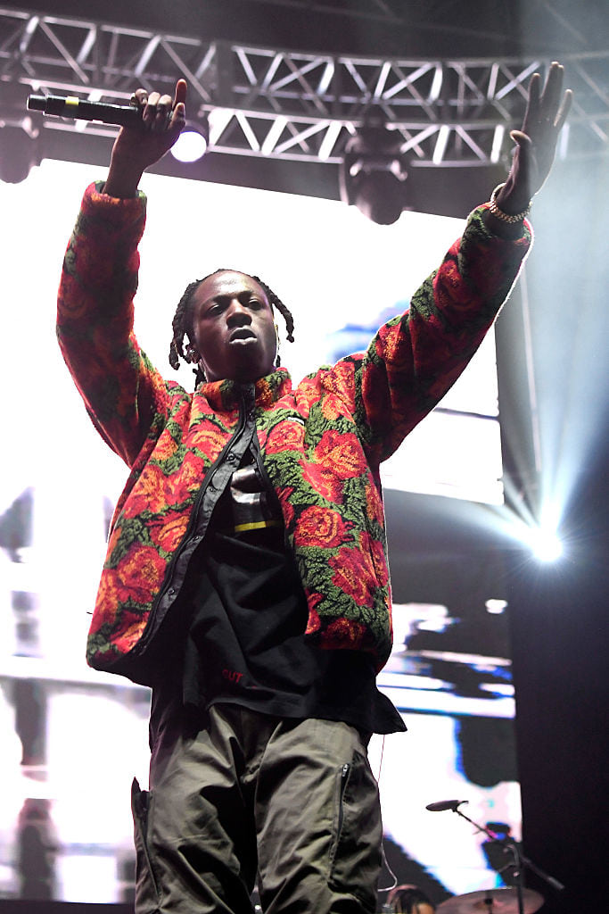 Report: Joey Bada$$ Sued For $1.5 Million After Pushing Trump Impersonator Off A Stage