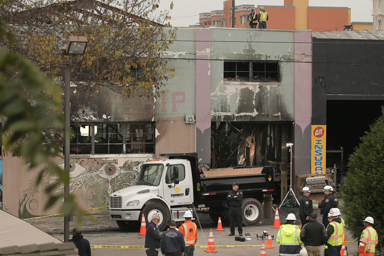 First Lawsuits Filed By Victims' Families Following Oakland Ghost Ship Fire