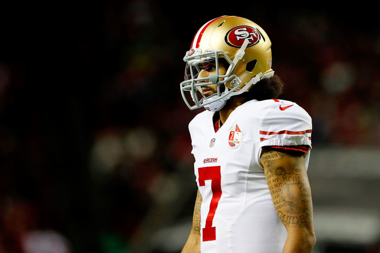Colin Kaepernick's jersey is now on display at the MoMA