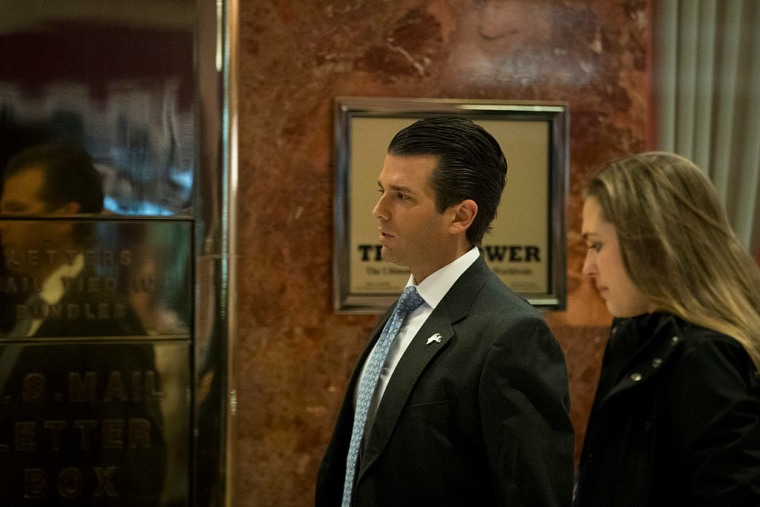 Report: Donald Trump Jr. Was Told Of Russian Effort To Aid Campaign In Email
