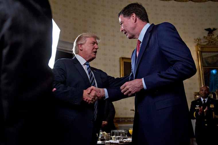 Report: Trump Told Comey To Shut Down FBI's Flynn/Russia Investigation