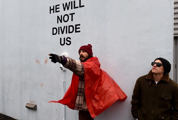Shia LaBeouf Relocates Performance Art Project To Liverpool