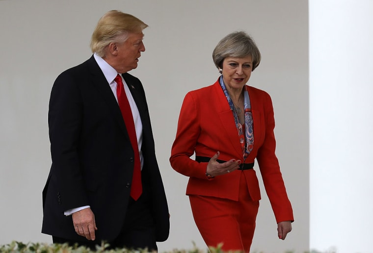 Report: British Prime Minister Theresa May Rejects Calls To Cancel Donald Trump State Visit