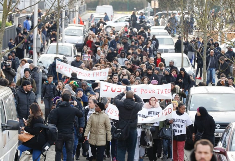 People In Paris Are Protesting After A Police Officer Was Charged With Raping A Young Man