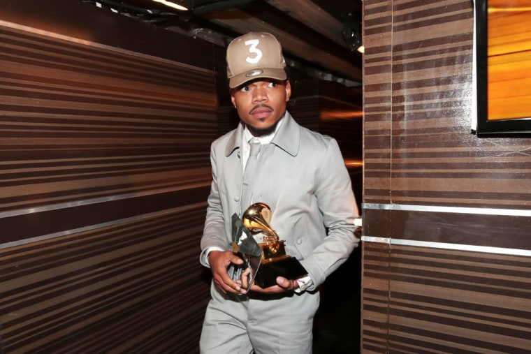 Chance The Rapper's Spotify Streams Increased By Over 200% After The Grammys