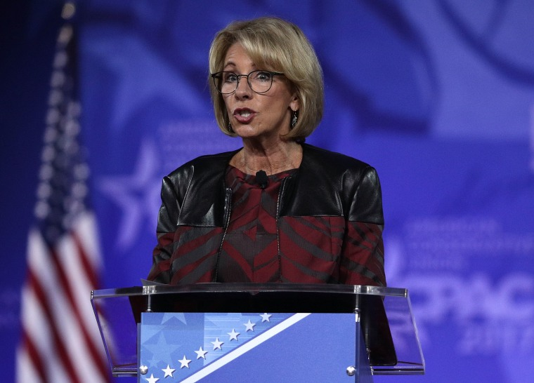 "Devos' Choice For Top Civil Rights Office Position Has Called Programs Designed For Minority Students ""Discriminatory"""