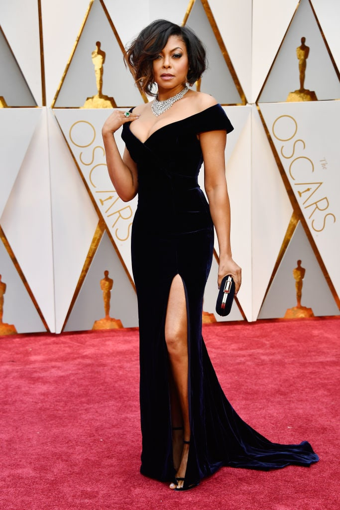 Taraji P. Henson Had A Truly Iconic Night At The Oscars