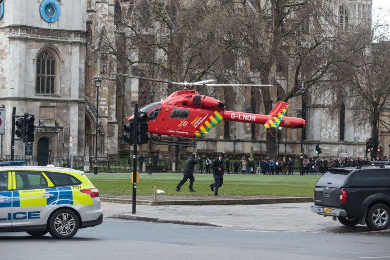 Artists Everywhere Posted Tributes To London Following Attack On Parliament