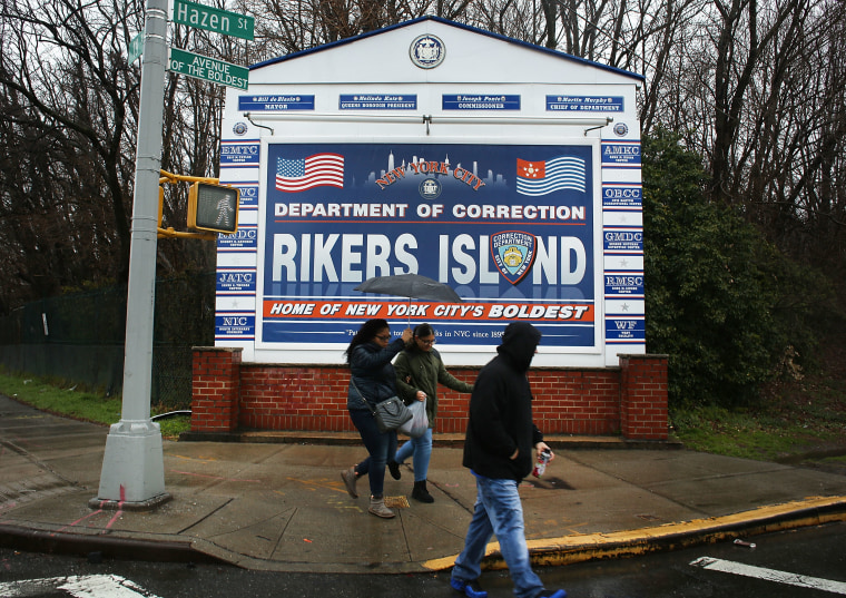 New York's Rikers Island jail to close, be replaced with four smaller jails