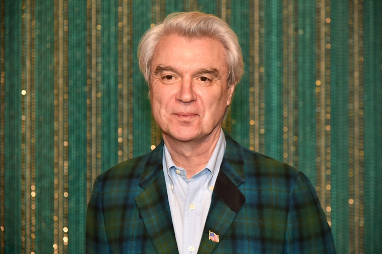David Byrne expresses regret for not collaborating with women on new album