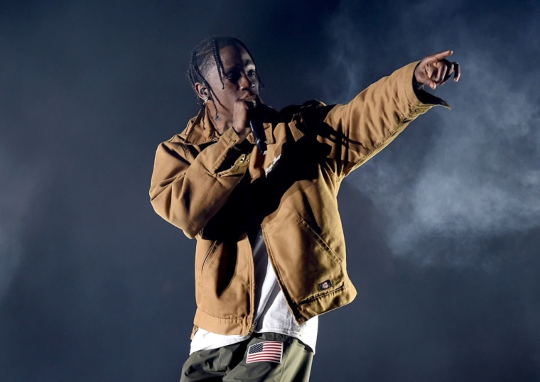 "Travis Scott: ""THIS WEEK THE FANS EAT"""