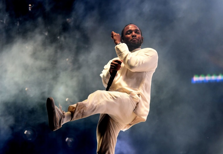 Kendrick Lamar has accepted his Pulitzer Prize