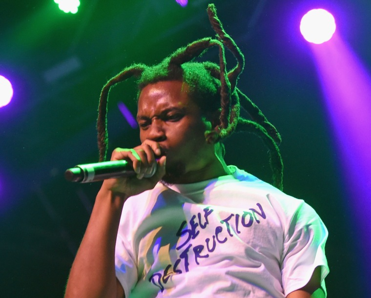 Denzel Curry teases new song with Flying Lotus.