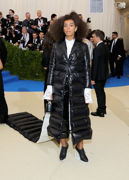 Solange Wore A Sleeping Bag Dress To The Met Gala
