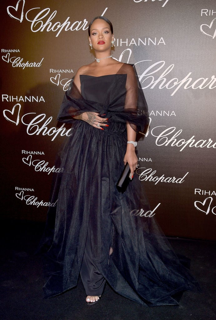 Rihanna Launched Her Chopard Jewelry Collection In Cannes