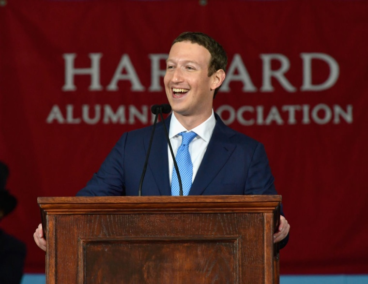"Mark Zuckerberg At Harvard Commencement: ""Even Beyoncé Had To Make Hundreds Of Songs To Get ""Halo'"""