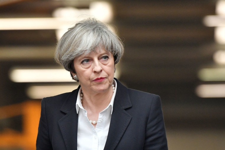 Prime Minister Theresa May Criticized Over Plans To Change U.K. Human Rights Laws In Response To Terror Threat