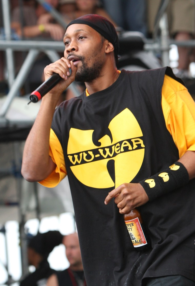 RZA Is Reviving The Wu Wear Clothing Brand