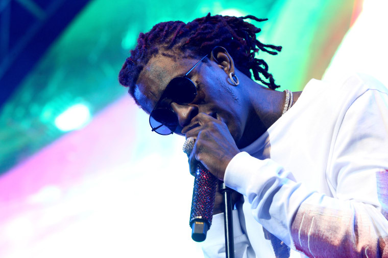 Young Thug reportedly handed himself into police in Georgia