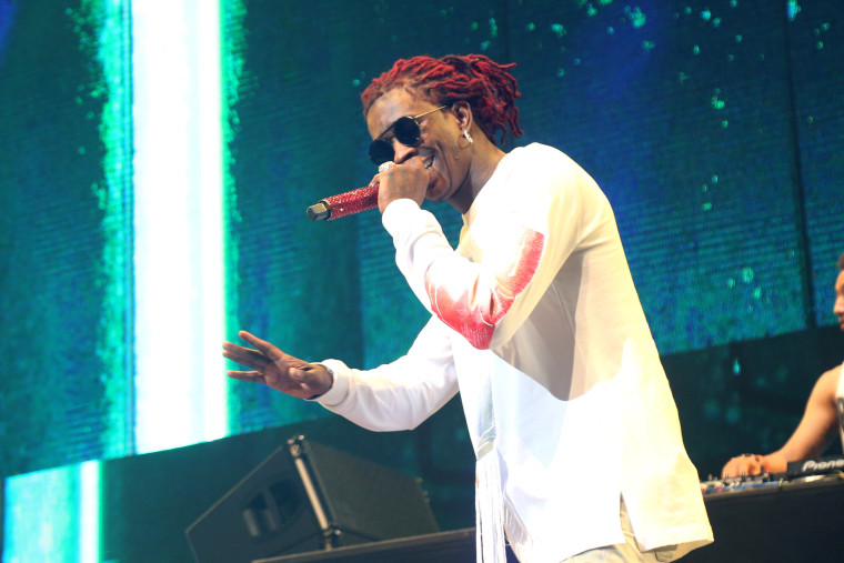Young Thug has been charged with eight felonies