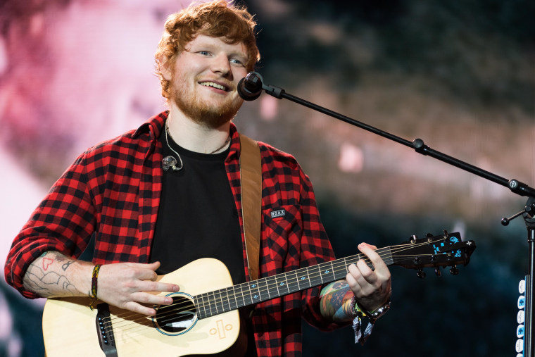 Ed Sheeran scores third number 1 with <i>No. 6 Collaborations Project</i> debut